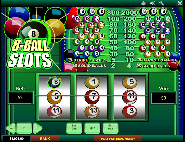 Play 8 Ball Slots Online at Casino.com Canada