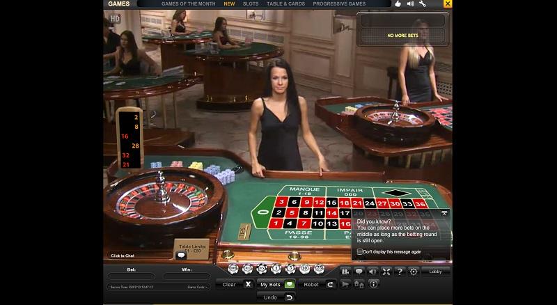 Live casino TV | Online Casino | Casino.com