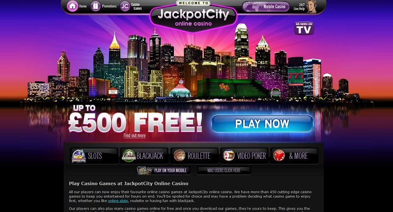 Play Hundreds of Games at Jackpot City